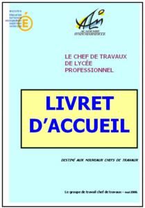 Aix Marseille Chefs De Travaux Enseignement Professionnel