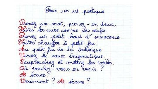 Aix Marseille Initiation à La Poésie Français Lettres