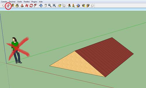 Etape 2 : Exporter Le Modèle Au Format .DAE. Sketchup2 Sketchup3. Etape 3 :  Importer Le Modèle Dans SweetHome3D